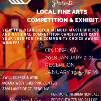 Local Fine Arts Competition and Exhibit